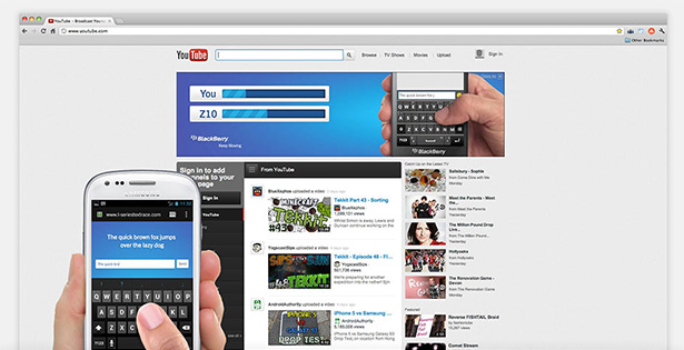 Blackberry text challenge 05