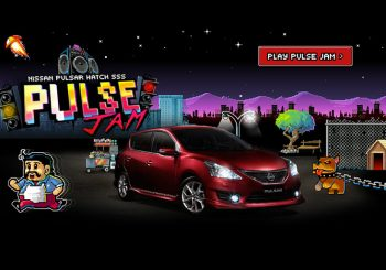 Nissan 'Pulse Jam' Youtube Banner