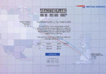 British Airways #RaceThePlane