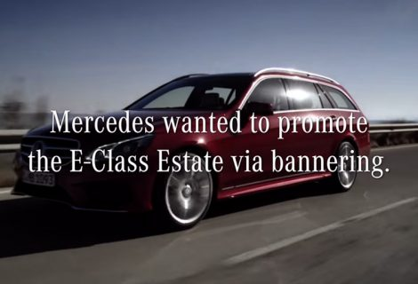 Mercedes Transportable Banner