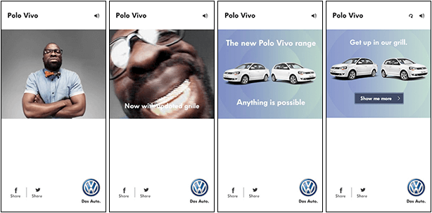Volkswagen Polo Vivo Grill Banners