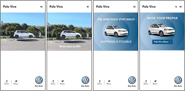 Volkswagen Polo Vivo Skipping Banners