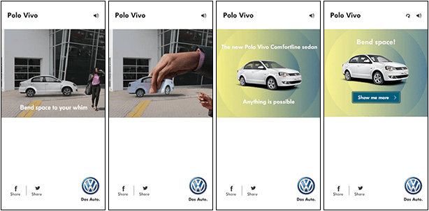 Volkswagen Polo Vivo Space Banners