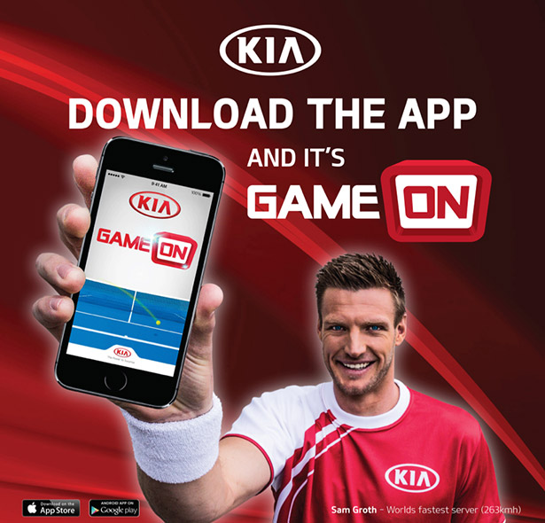 KIA Game On App