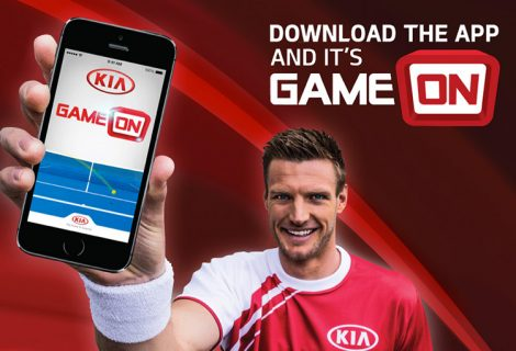 KIA Game on Tennis App