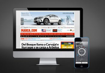 Control Mercedes Banner With Your Mobile Phone