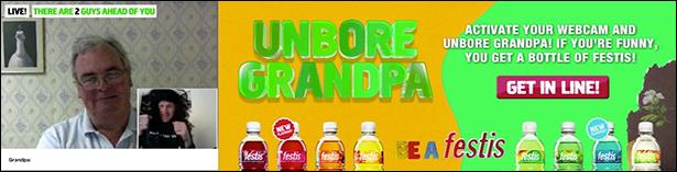 Unbore Grandpa bannergurus 01