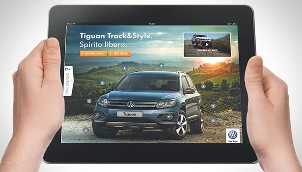 Volkswagen Tiguan Tablet Banner 02