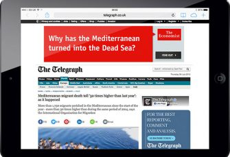 The Economist - Content Targeting Ads