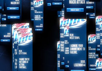 Miller Lite Smack Banners