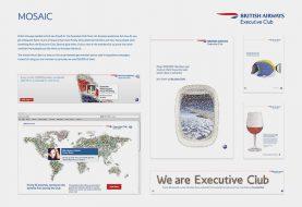 British Airways Loyalty Club Mosaic
