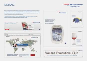 British Airways Loyalty Club Mosaic