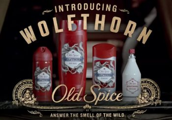 Old Spice Scratch N' Sniff Banners