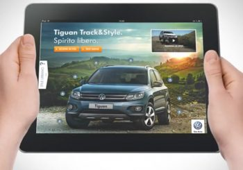 Volkswagen Drives in Style in The Tablet Ad