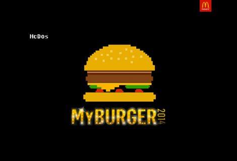 McDonald's McDos banner
