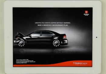 Bradesco Auto iPad Ad